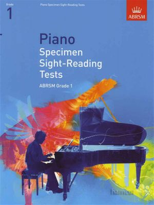 Piano Specimen Sight-Reading Tests for Piano ABRSM Grade 1