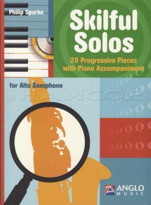 Skilful Solos for Alto Sax Book/CD