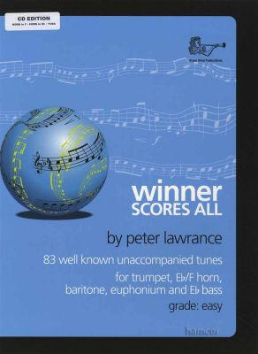 Winner Scores All Horn in F Horn in Eb Tuba Book/CD