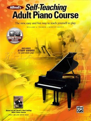 Self-Teaching Adult Piano Course Book/Audio
