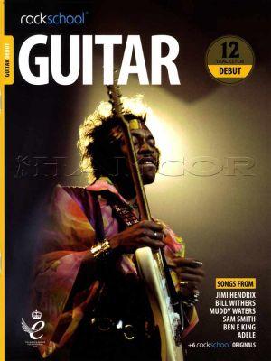 Rockschool Guitar Debut 2018-2024 Book/Audio