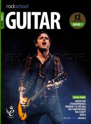Rockschool Guitar Grade 1 2018-2024 Book/Audio