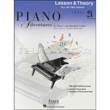 Piano Adventures Lesson & Theory Level 2A