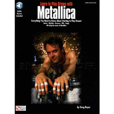Learn To Play The Drums with Metallica Book/Audio