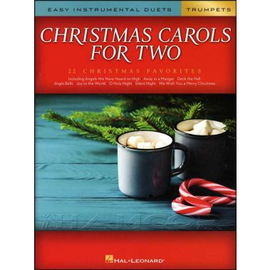 Christmas Carols for Two Easy Duets for Trumpets