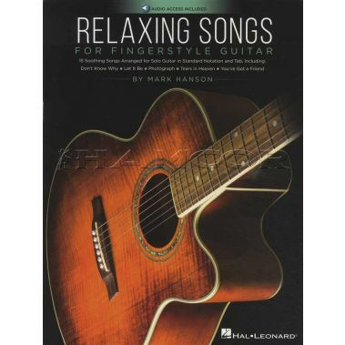 Relaxing Songs for Fingerstyle Guitar Book/Audio