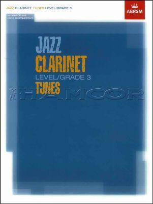 Jazz Clarinet Tunes Grade 3 Book/CD