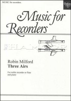 Music for Recorders Three Airs