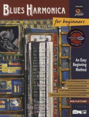 Blues Harmonica for Beginners Book/CD