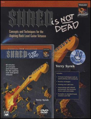 Shred Is Not Dead Book/DVD
