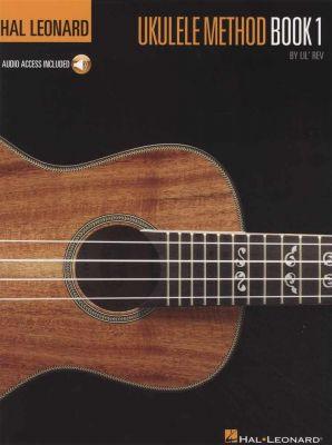 Hal Leonard Ukulele Method Book 1 Book/Audio