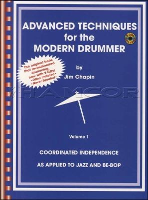 Advanced Techniques for the Modern Drummer Book/2CDs