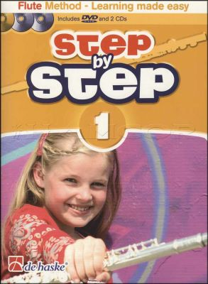 Step by Step Flute Method 1 Book/DVD/CDs