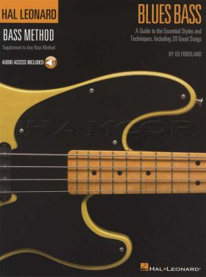 Hal Leonard Bass Method Blues Book/Audio