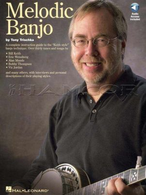 Melodic Banjo Tony Trischka Book/Audio