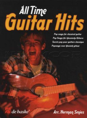 All Time Guitar Hits Pop Songs for Classical Guitar