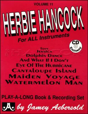 Herbie Hancock for All Instruments Book/CD