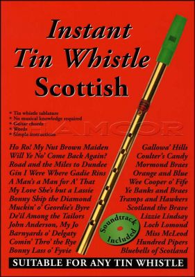 Instant Tin Whistle Scottish Book/CD