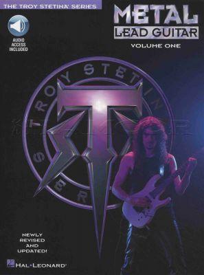 Metal Lead Guitar Volume 1 Troy Stetina Book/Audio