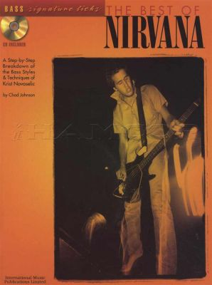 The Best Of Nirvana Bass Signature Licks Book/CD