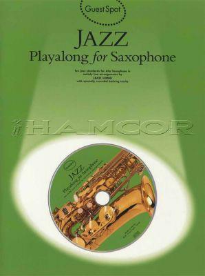 Jazz Playalong for Saxophone Book/CD