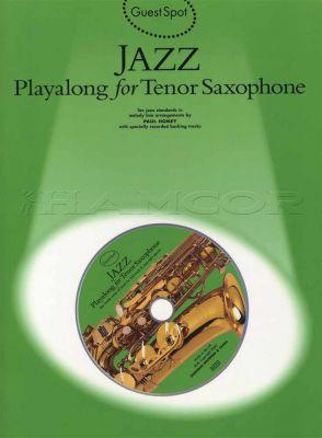 Jazz Playalong for Tenor Saxophone Book/CD