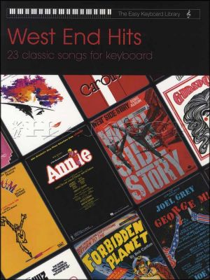 West Ends Hits Easy Keyboard Library