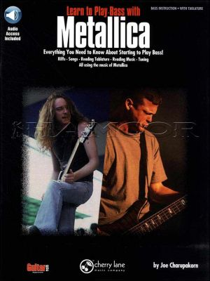 Learn to Play Bass with Metallica Book/Audio