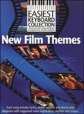 New Film Themes Easiest Keyboard Collection