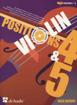 Violin Positions 4 & 5 Book/CD
