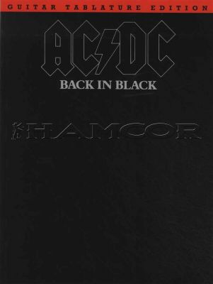 AC/DC Back in Black Guitar TAB Edition