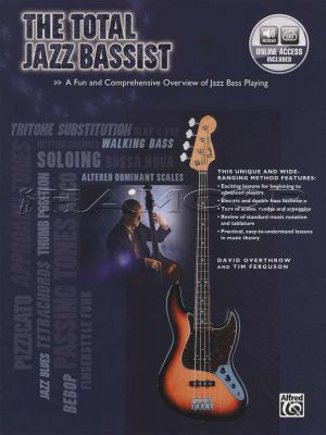 The Total Jazz Bassist Book/Audio