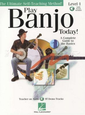 Play Banjo Today Level 1 Book/Audio