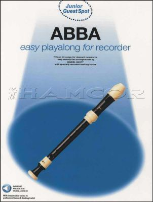 ABBA Easy Playalong for Recorder Book/Audio