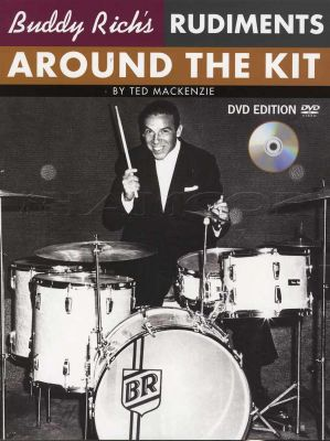 Buddy Rich Rudiments Around the Kit Book/DVD