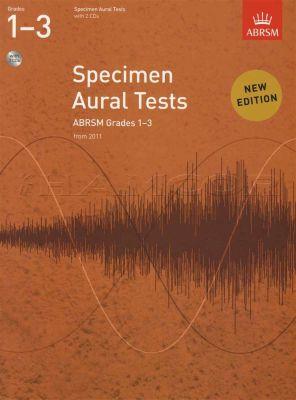 Specimen Aural Tests Grades 1-3 Book/2CDs