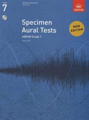Specimen Aural Tests Grade 7 Book/CD