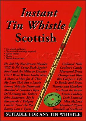 Instant Tin Whistle Scottish Book Only