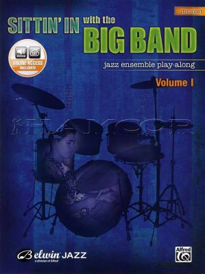 Sittin' In with the Big Band Drumset Book/Audio