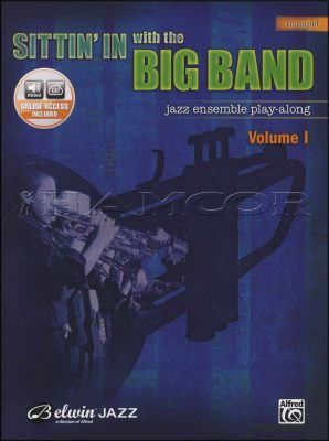 Sittin' In with the Big Band Trumpet Book/Audio