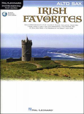 Irish Favorites Alto Sax Book/Audio