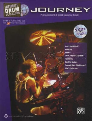 Journey Ultimate Drum Play-Along Book/CDs