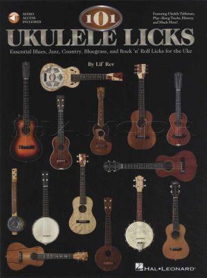 101 Ukulele Licks Book/Audio