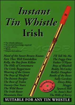Instant Tin Whistle Irish Book/CD