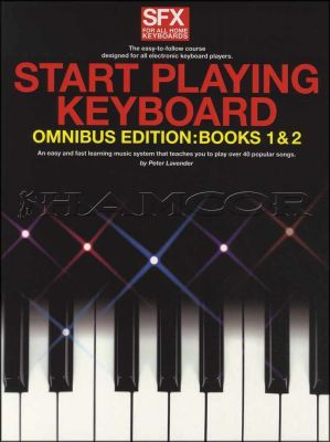 Start Playing Keyboard SFX Tutor Omnibus Edition