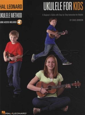 Ukulele for Kids Hal Leonard Ukulele Method Book/Audio