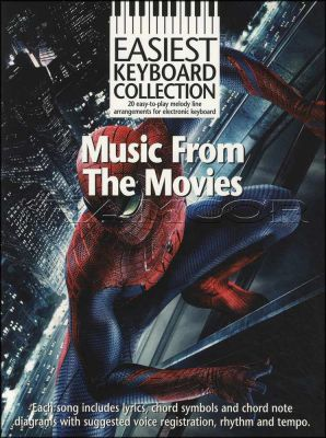 Music from The Movies Easiest Keyboard Collection