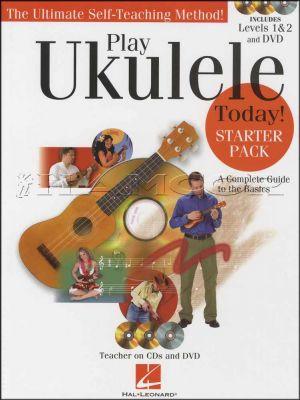 Play Ukulele Today Starter Pack Book/DVD/CDs