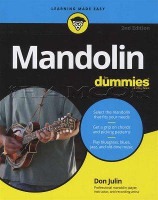 Mandolin for Dummies Book/Audio