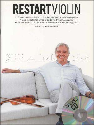Restart Violin Book/CD